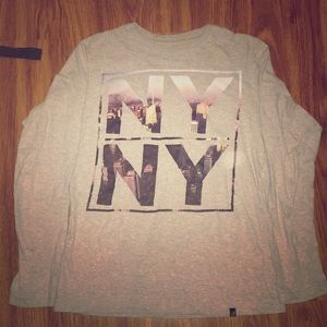Other - long sleeved gray shirt